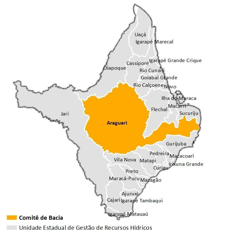 UEGRHs Amapá