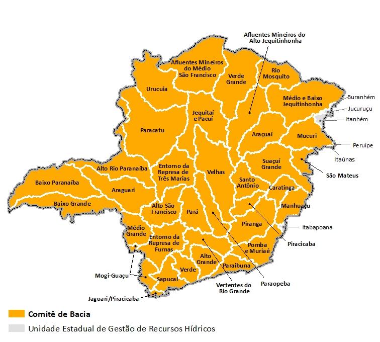 UEGRHs Minas Gerais