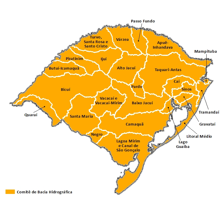UEGRHs Rio Grande do Sul